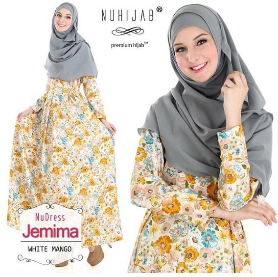 Kumpulan Baju Dres Masa Kini Desain Terbaru Baju Muslim