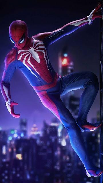 Spider-Man Wallpaper: New universe