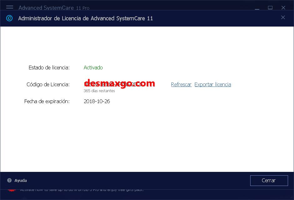 Descargar Advanced SystemCare Full PRO 11 Serial