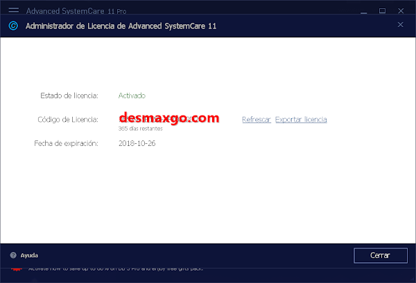 Descargar Advanced SystemCare Full PRO 11 Serial