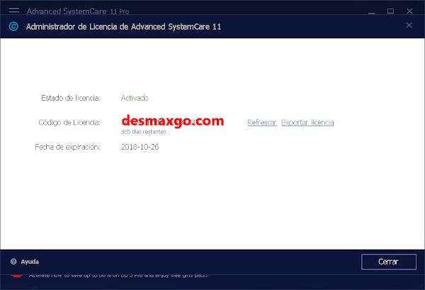 Advanced SystemCare PRO v11.5.0.240 Full Serial MEGA en ...