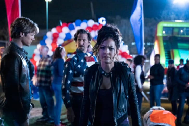 MacGyver - Episode 5.15 - Abduction + Memory + Time + Fireworks + Dispersal (Series Finale) - Promotional Photos + Press Release