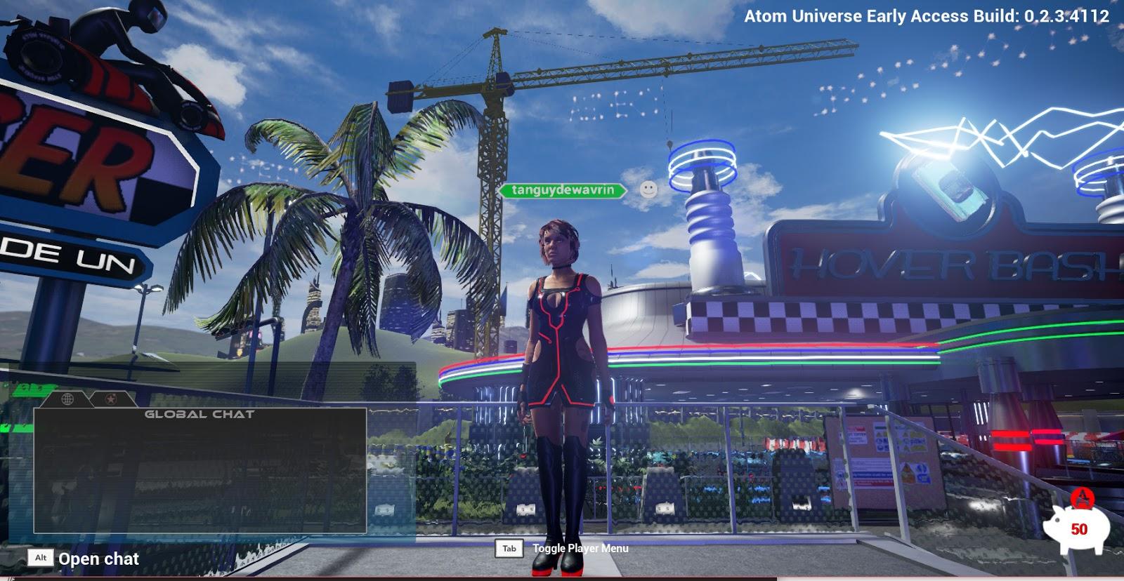 Novedades e Información en Atom Universe Crane