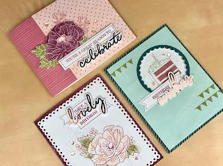 February 2020 Paper Pumpkin: 3 Lovely Day Alternative Projects ~ www.juliedavison.com