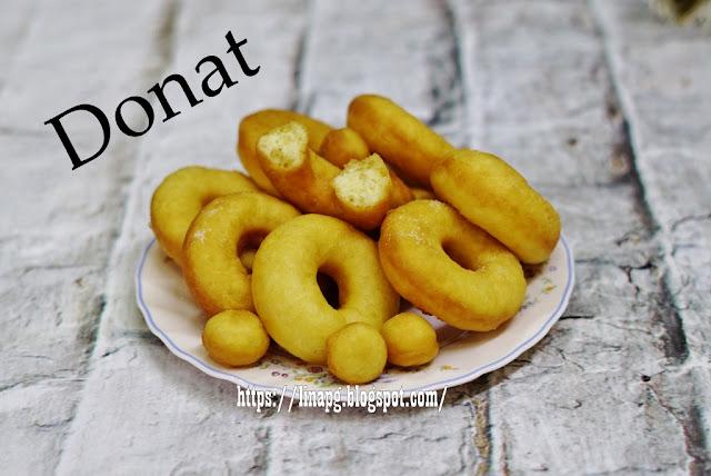Resepi Donut Kampung Paling Mudah Tak Perlu Uli Tetap ...