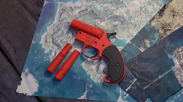 Flare gun PUBG Mobile
