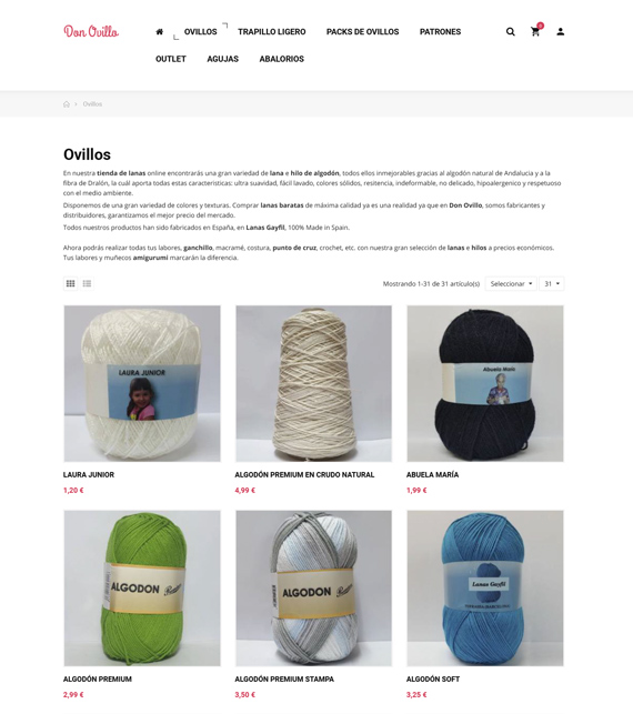 lana para manualidades