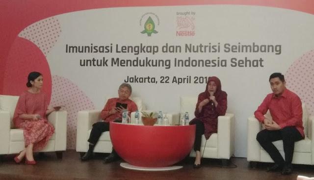 Dukung Indonesia Sehat Dengan Imunisasi Lengkap dan Nutrisi Seimbang