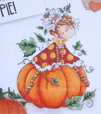 Heather's Hobbie Haven - Patricia Loves Pumpkins Card Kit