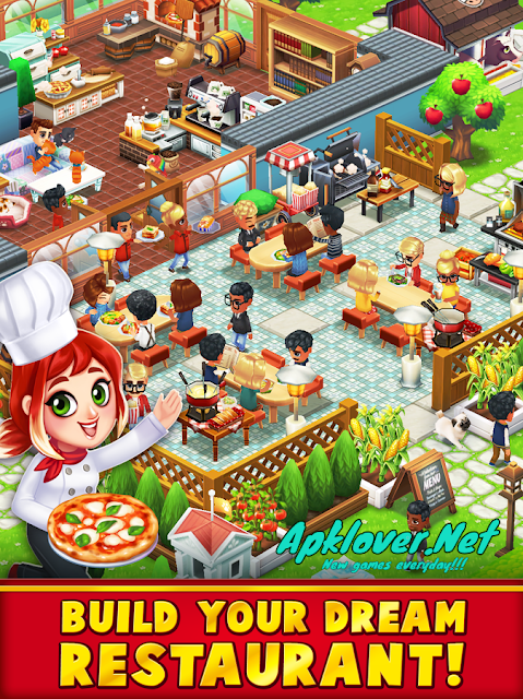 Food Street MOD APK unlimited money