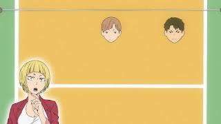 ハイキュー!! アニメ 3期2話 田中冴子 | Karasuno vs Shiratorizawa | HAIKYU!! Season3