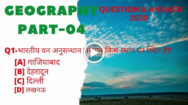 General Knowledge Quiz for Competitive Exams- 2020