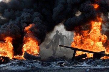 اللبنانيون يتظاهرون في معظم مدن البلاد، مرددين  #لبنان_ينتفض 🇱🇧 #٧٢ساعه