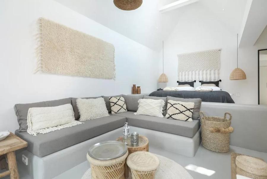 Cómo amueblar y decorar tu casa con cemento pulido