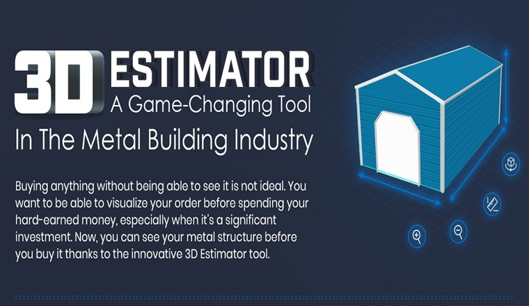 3D Estimator – A Game Changing Tool in the Metal Building Industry #infographic