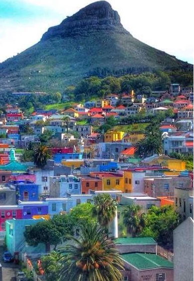 Mother Nature Bo Kaap In Cape Town South Africa