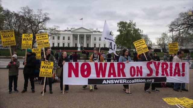Partidarios de Trump se vuelven contra él por el ataque a Siria