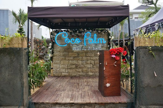 restoran coco palm bar and grill citraland surabaya