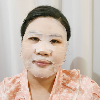 Review Clinelle Peeling Pad and Refining Mask - Hydrating