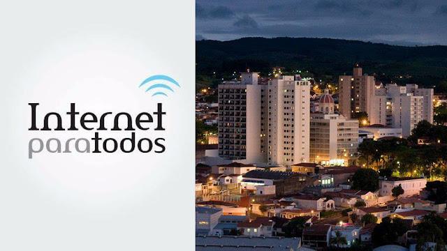 """Pinhal será uma das primeiras cidades de SP a receber o programa """"Internet para Todos"""""""