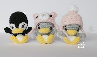 häkelblog - täglich neue anleitungen: süße pinguine - häkelanleitung