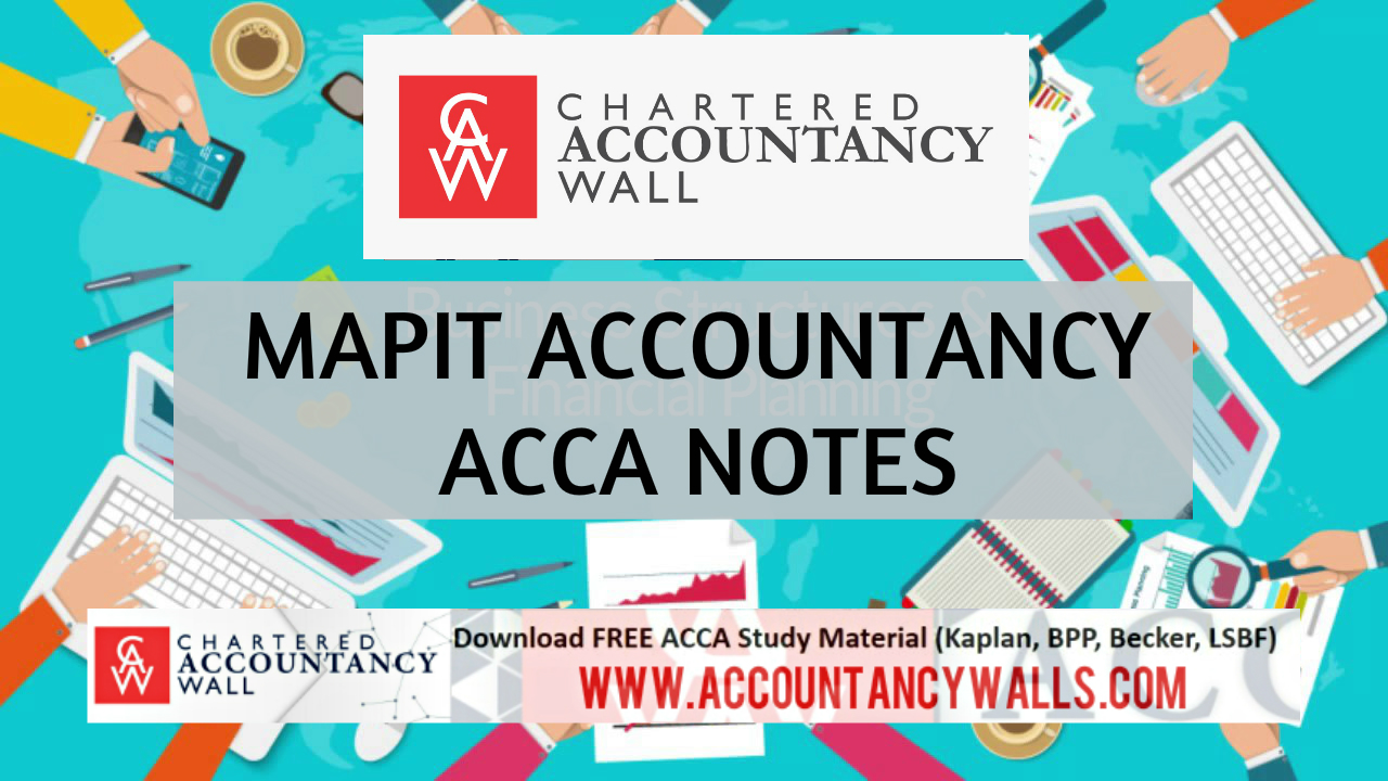 MAPIT ACCOUNTANCY - FREE ACCOUNTANCY STUDY MATERIALS