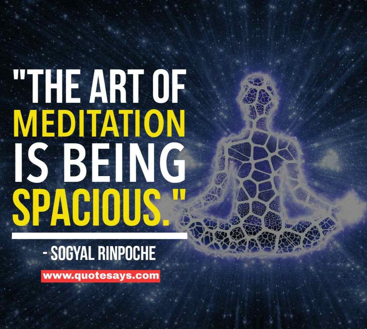 Quotes on meditation