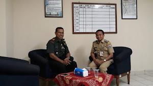 Jaga hubungan baik antara TNI polri dan pemerintahan (kecamatan) semakin harmonis
