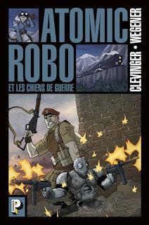 Atomic Robo et les chiens de guerre (tome 2) chez Casterman