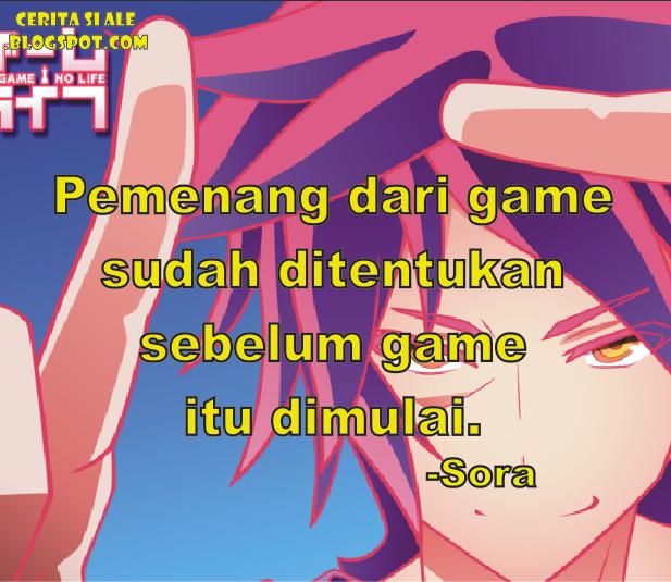 Kalimat Berkelas Dari Sora No Game No Life