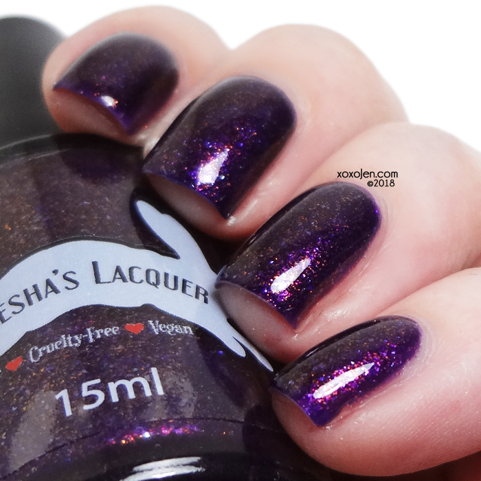 xoxoJen's swatch of Leesha's Lacquer Two Suns
