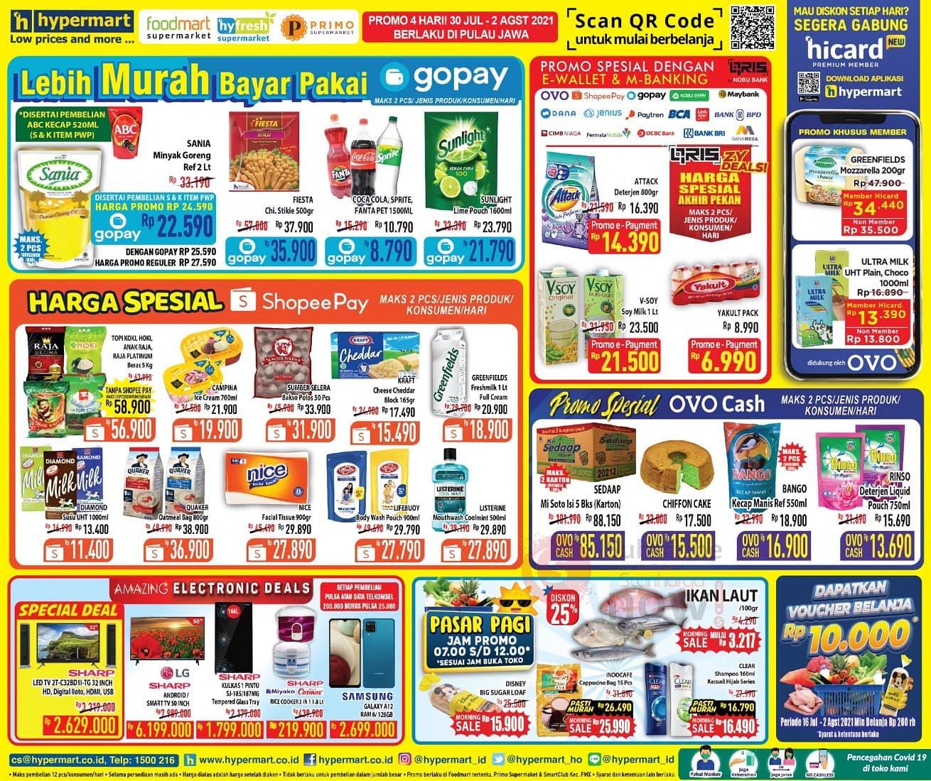 Katalog Promo Hypermart Weekend 30 Juli - 2 Agustus 2021 2