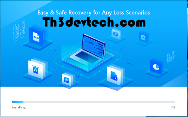 install EaseUS Data Recovery Wizard