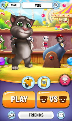 Game Talking Tom Bubble Shooter 1.3.2.741 Mod Apk Unlimited Money
