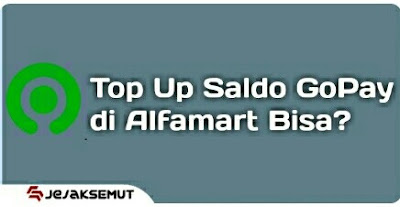cara top up gopay di alfamart