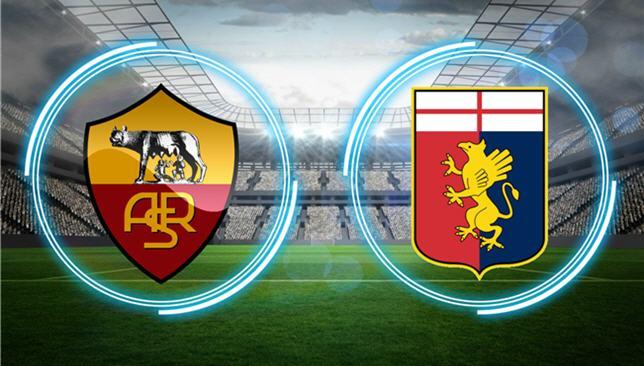 ملخص واهداف مباراة روما وجنوي اليوم