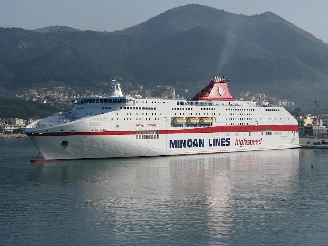 Στο λιμάνι της Ηγουμενίτσας προσέκρουσε το Cruise Europa (+ΒΙΝΤΕΟ)