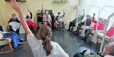 Grup de fisioteràpia de l'Aviparc centre de dia