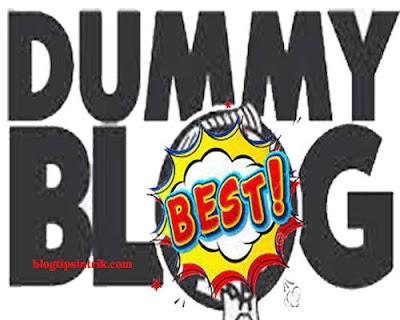 Tips Membuat Blog Dummy Berkualitas