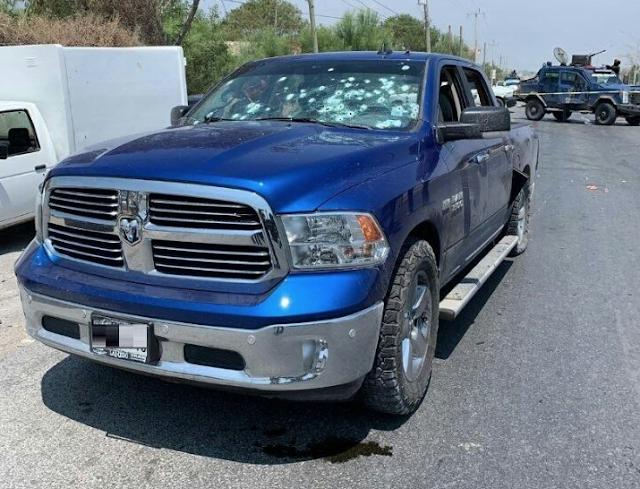"""No tuvieron misericordia con """"El Elvis"""" sicario del CDN quien murio atravesado por las balas de las blindadas """"SandCat"""