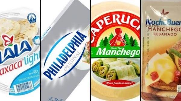 PROFECO prohíbe la venta de quesos Fud, Lala, y otros por no contener el mínimo de leche