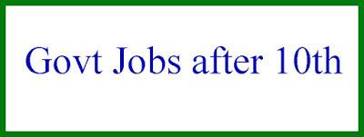 Jobs for 10th pass के लिए कौन-सी नौकरी होती है?