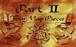 Monkey Island 2 Part 2 Four Map Pieces title card