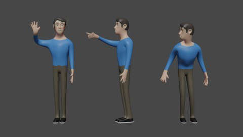 Create Your Own Character in Blender [Free Online Course] - TechCracked