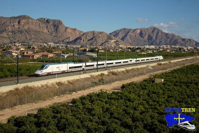 Mañana entra en servicio el Ave Madrid -Elche- Orihuela