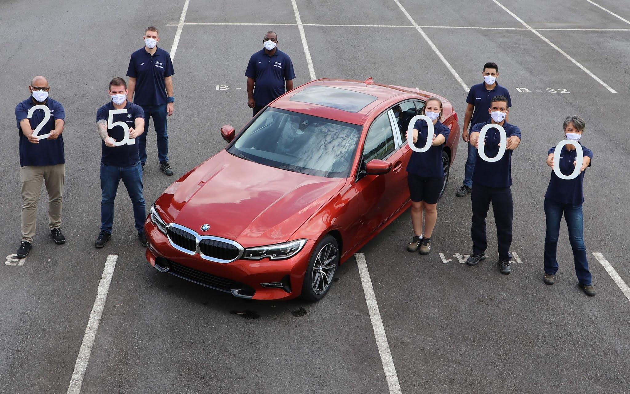 BMW Série 3 2022 fabricado no Brasil