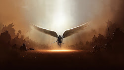medieval wallpapers desktop hd warrior angel knight backgrounds times flag armour think than wars skill were