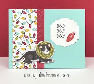 3 Stampin' Up! Little Delights Window Cards + VIDEO ~ Sweet Stockings Suite ~ www.juliedavison.com #stampinup