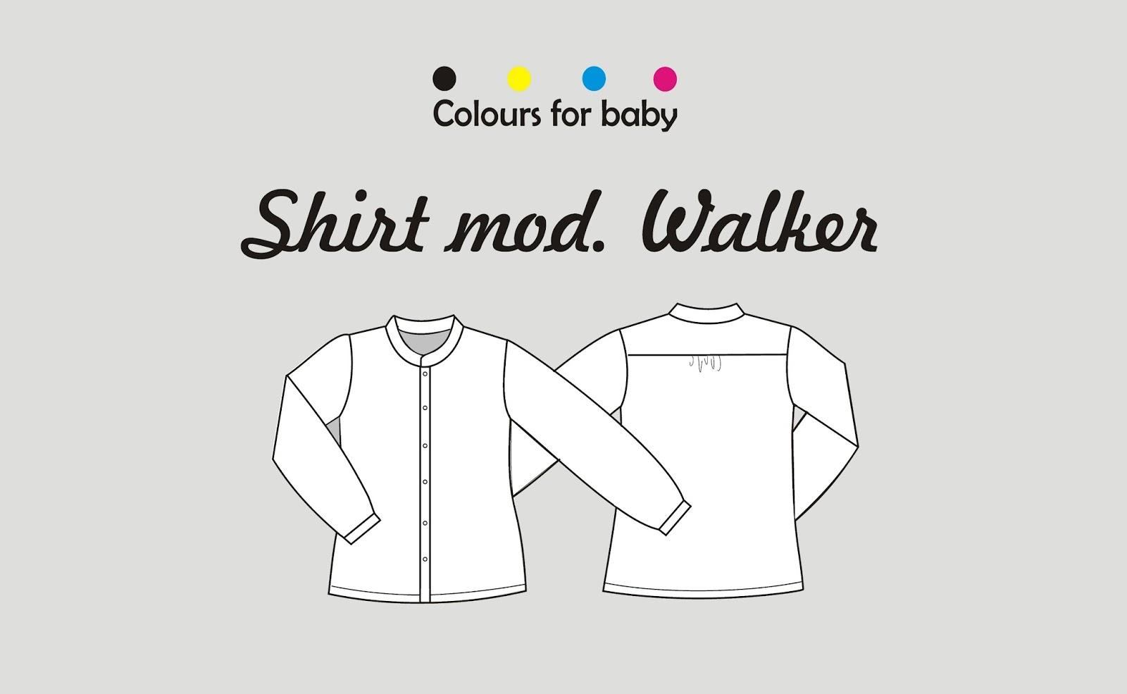 Cómo hacer una camisa de niño: Patrón gratis ~ Colours for Baby
