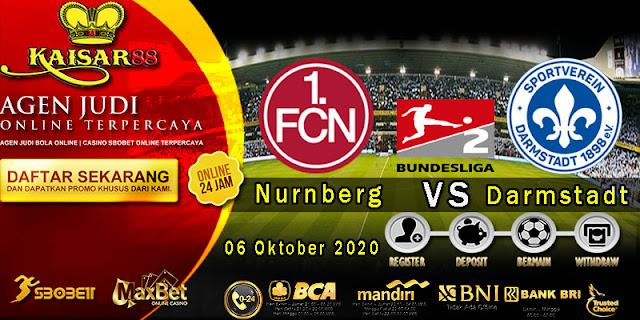 Prediksi Bola Terpercaya Liga Jerman-2 Nurnberg vs Darmstadt 06 Oktober 2020